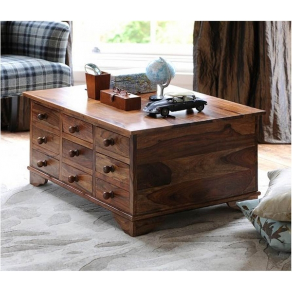 . TRUNK CHEST COFFEE TABLE   Sublime Exports